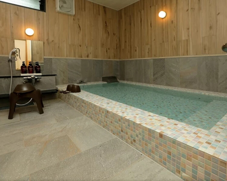 UFUFU VILLAGE   ウフフビレッジ 月ケ瀬温泉 大浴場写真