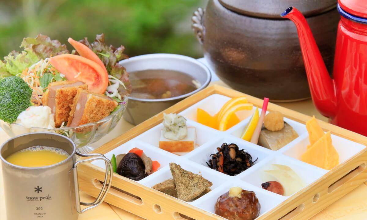 ゆとりろグランピングガーデン熱海伊豆山 朝食写真