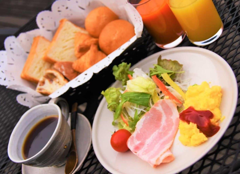 昭和ふるさと村の朝食
