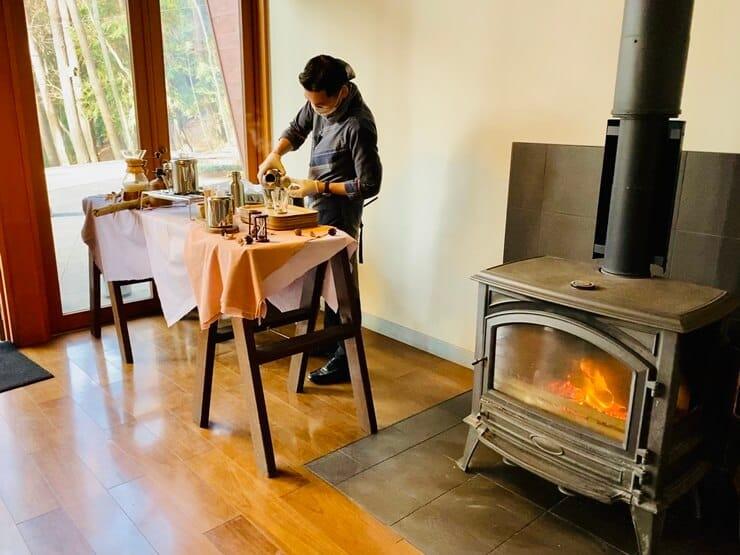 星のや富士の朝食・カフェ