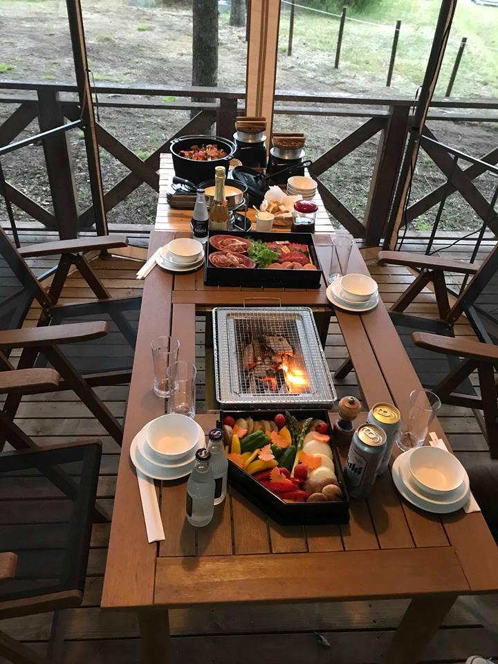 びらとり温泉~ゆから~のお食事