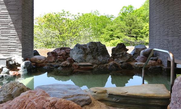 びらとり温泉~ゆから~の温泉浴場