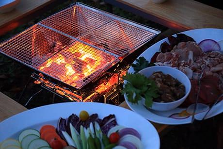 ログ ホテル メープルロッジの夕食