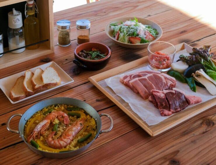 「ザランタン(The Lantown)あば村」の夕食メニュー