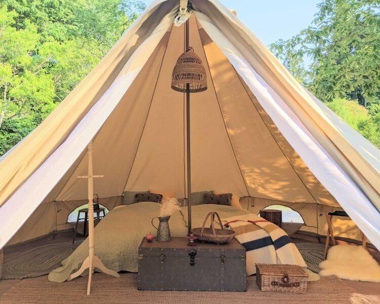 ザランタン三瀬高原 グランピング テント客室画像